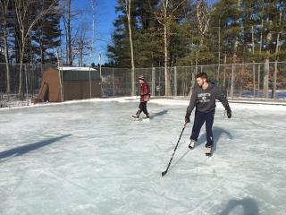 Amherst Parks & Recreation maintains 2 skating rinks in town.